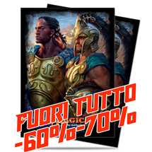 E-86476 Deck Protector Commander Kynaios and Tiro of Meletis 120ct FUORI TUTTO