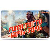 E-86426 Play Mat Magic Commander 2016 Kynaios and Tiro of Meletis FUORI TUTTO