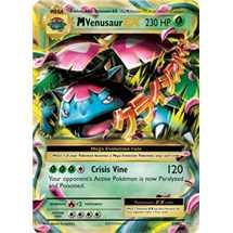 Mega Venusaur EX Foil