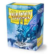 11020 Dragon Shield Standard Sleeves - Matte Petrol (100 Sleeves)