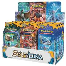 Box 12x Mazzi Pokemon Sole e Luna ITA