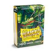 11118 Dragon Shield Small Sleeves - Japanese Matte Apple Green (60 Sleeves)