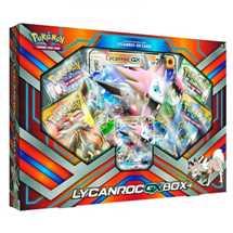 Pokemon Set Lycanroc- GX in Inglese