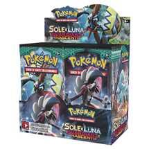 Box Pokemon Sole e Luna II Guardiani Nascenti  (36 buste)