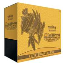 Pokemon Sun and Moon Guardians Rising Elite Trainer Box in inglese