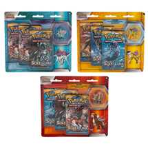 Pokemon Legendary Beasts Collector's Pin 3- Pack Entei/ Raikou/ Suicune