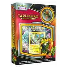 Pokemon Tapu Koko Collection Inglese