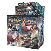 Box Pokemon Sole e Luna Ombre Infuocate (36 buste)