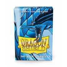 11119 Dragon Shield Small Sleeves - Japanese Matte Sky Blue (60 Sleeves)