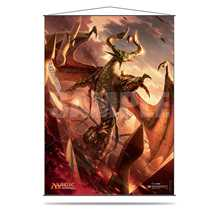 E-85337 Magic Nicol Bolas Promo Wall Scroll
