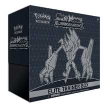 Sun and Moon Burning Shadows Elite Trainer Box