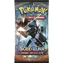 Busta Pokemon Sole e Luna Ombre Infuocate