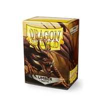 11011 Dragon Shield Standard Sleeves - Matte Umber (100 Sleeves)