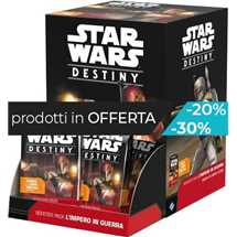 Star Wars Destiny - L'Impero in Guerra Booster Box FUORI TUTTO