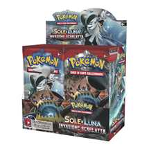 Box Pokemon Sole e Luna Invasione Scarlatta  (36 buste)