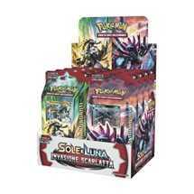 Box 8x Mazzi Pokemon Sole e Luna Invasione Scarlatta ITA