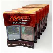 Display 6x Duel Decks Merfolk vs. Goblins ING