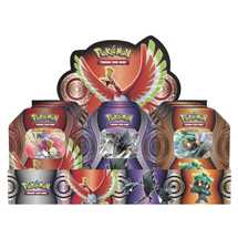 Display 9x Tin Pokemon Poteri Misteriosi