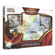 Pokemon SM3.5 Leggende Iridescenti Collezione Poteri Supremi