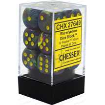27649 16mm d6 Festive Rio w/yellow