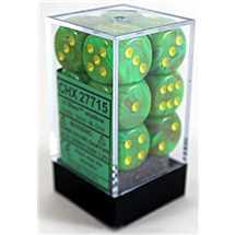 27715 16mm d6 Vortex Slime w/Yellow