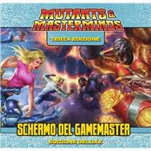 Mutants & Mastermind - Schermo del Gamemaster