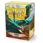 10025 Dragon Shield Standard Sleeves - Classic Mint (100 Sleeves)