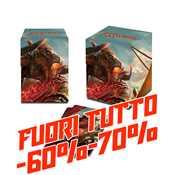 E-86658 Porta Mazzo 100+ Full-View MTG Rivals of Ixalan v1 FUORI TUTTO