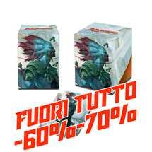 E-86660 Porta Mazzo 100+ Full-View MTG Rivals of Ixalan v3 FUORI TUTTO