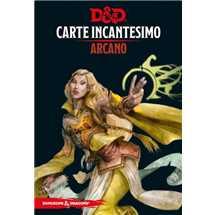 Dungeons & Dragons - Carte Incantesimo Arcano