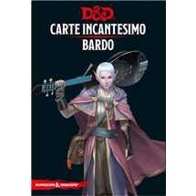 Dungeons & Dragons - Carte Incantesimo Bardo