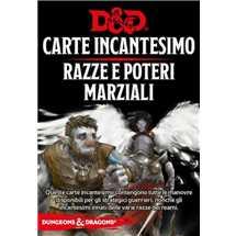 Dungeons & Dragons - Carte Incantesimo Razze e Poteri Marziali