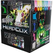DC HeroClix War of Light  Gravity Feed (24 packs)