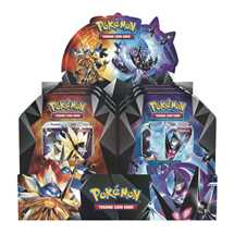 Display 6x Tin Pokemon  Necrozma Prisma