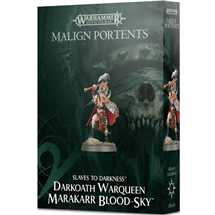 83-80 Malign Portents Darkoath Warqueen Marakarr Blood-Sky