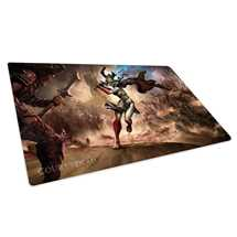 UGD010740 Court of the Dead Play-Mat Death's Valkyrie I 61 x 35 cm
