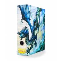33503 Dragon Shield Slipcase Binder - Blue art Dragon FUORI TUTTO