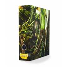33504 Dragon Shield Slipcase Binder - Green art Drgon