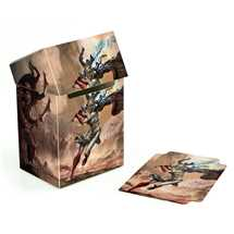 UGD010735 Court of the Dead Basic Deck Case 80+ Standard Size Death's Valkyrie