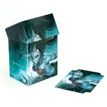 UGD010737 Court of the Dead Basic Deck Case 80+ Standard Size Death's Siren