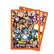 E-85633 Dragon Ball Super Standard Size Deck Protector sleeves 65ct. - All Stars