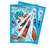 E-85634 Dragon Ball Dragon Ball Super Standard Size Deck Protector sleeves 65ct. Super Saiyan