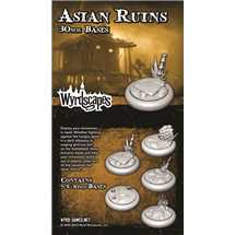 WYRWS010 Asian Ruins 30mm Bases