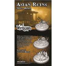 WYRWS011 Asian Ruins 40mm Bases