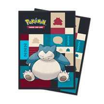 E-85525 Deck Protector Ufficiali Pokemon Snorlax (65 bustine)