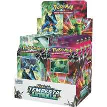 Box 8x Mazzi Pokemon Sole e Luna Tempesta Astrale ITA