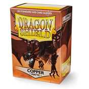 11016 Dragon Shield Standard Sleeves - Matte Copper (100 Sleeves)