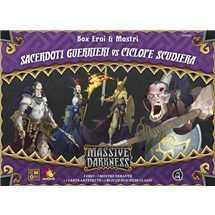 Massive Darkness - Sacerdoti Guerrieri vs Ciclope Scudiera