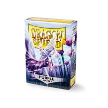 11209 Dragon Shield Standard Sleeves - Matte Purple (60 Sleeves)