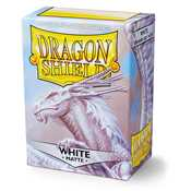 11005 Dragon Shield Standard Sleeves - Matte White (100 Sleeves)